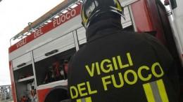 INCENDIO IN AUTORIMESSA CON 5 MACCHINE, INTERVENGONO I VIGILI DEL FUOCO DI POTENZA!