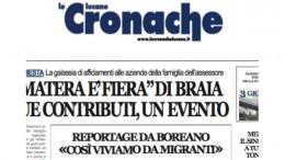 """POTENZA: CHIUDE IL GIORNALE """"LE CRONACHE LUCANE"""""""
