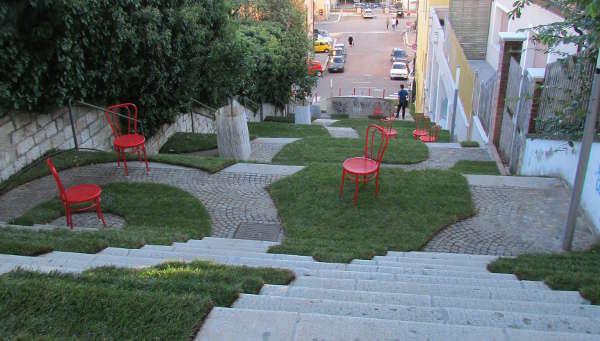 A potenza incanta la meraviglia dell 39 opera d 39 arte giardino in scala - Scale in giardino ...