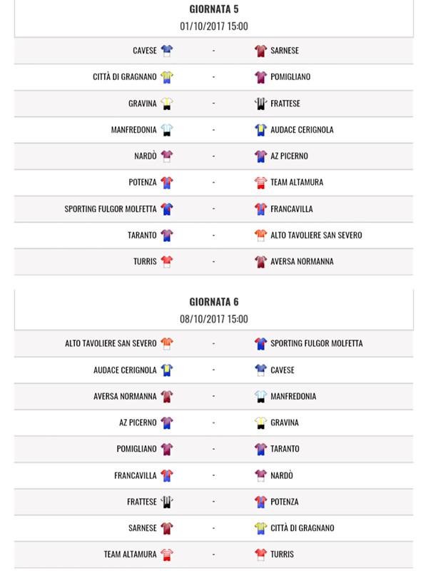 Calendario Serie D Girone H.Il Potenza Calcio Pronto Al Nuovo Campionato Ecco Il