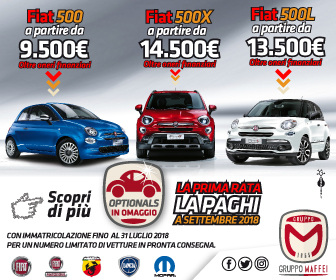 2 Maffei 2018 FIAT GAMMA 500 dal 18 22 Luglio 2018